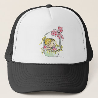 EAS-003 Easter Basket Trucker Hat