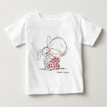 EAS-007 Bunny Love! Baby T-Shirt
