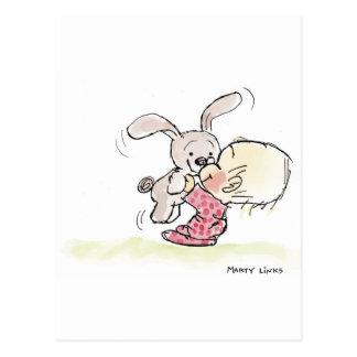 EAS-008 Bunny Fun Postcard