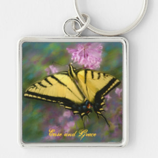 Ease And Grace Butterfly Key Chain