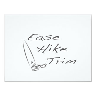 Ease Hike Trim Card