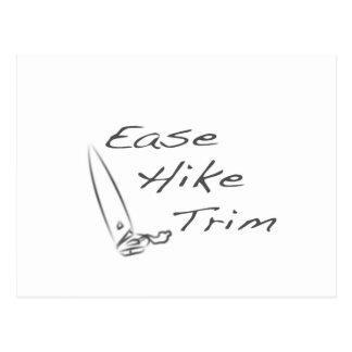 Ease Hike Trim Postcard
