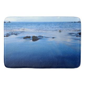 Ease vacation blue bath mat