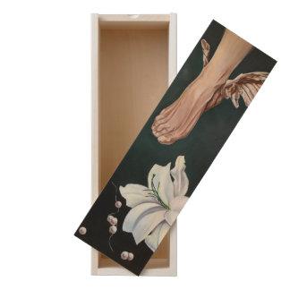 ease wooden keepsake box