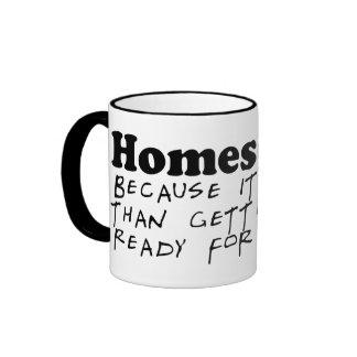 Easier Than the Bus Coffee Mug