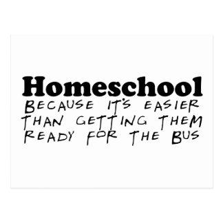 Easier Than the Bus Postcard