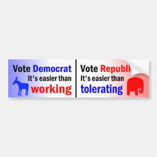 Easier Than Working Bumper Sticker