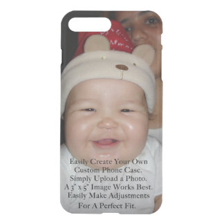 Easily Add Your Photo For a Personalized Custom iPhone 8 Plus/7 Plus Case