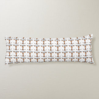 Easily AMOOSED!- Easily Amused funny Moose Body Pillow