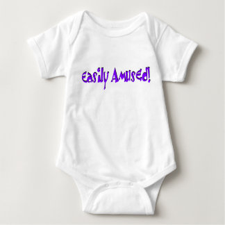 Easily Amused! Baby Bodysuit