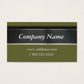 Easily Change Color Classic Business Cards