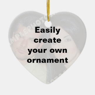 Easily create your ornament Remove the big text!