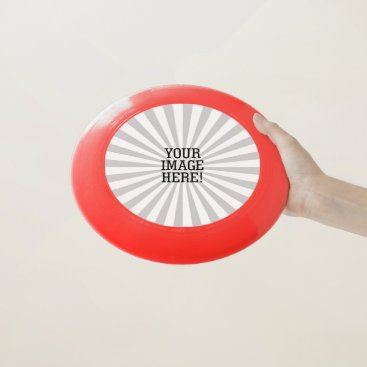 Beach Themed Easily Create Your Own Companion in one step on a Wham-O Frisbee