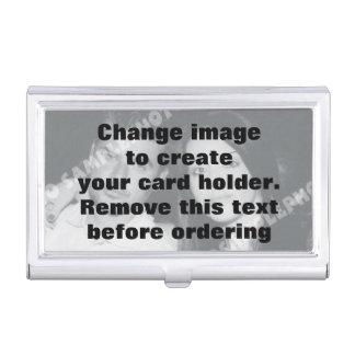 Easily create your own custom business card case
