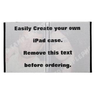Easily create your own custom iPad case