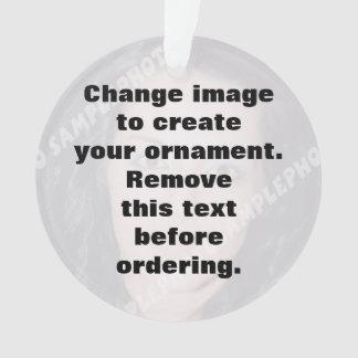 Easily create your own custom photo ornament