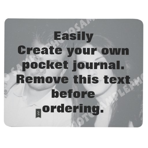 Easily create your own custom pocket journal
