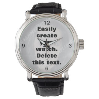 Easily create your own custom watch