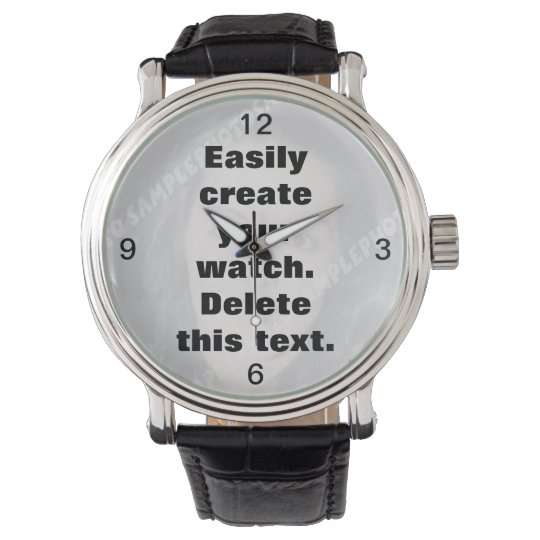 Easily create your own custom watch