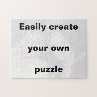 Easily create your puzzle. Remove the big text!