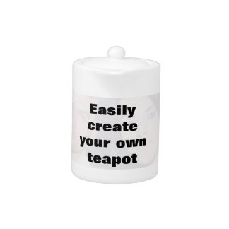 Easily create your teapot Remove the big text!