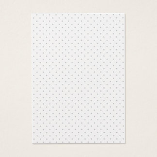 Easily Customize Color from Grey Mini Polka Dots Business Card