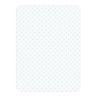 Easily Customize Color from Grey Mini Polka Dots Card