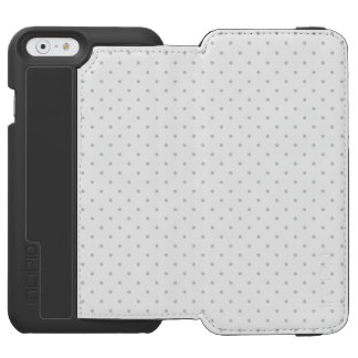 Easily Customize Color from Grey Mini Polka Dots Incipio Watson™ iPhone 6 Wallet Case