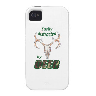 EASILY DISTRACTED BY DEER iPhone 4 COVER