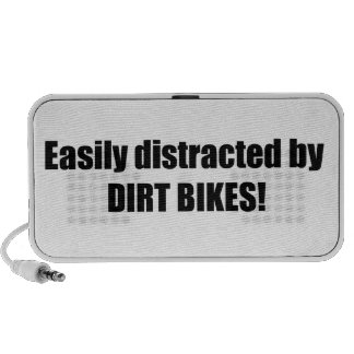Easily Distracted By Dirt Bikes Travel Speaker