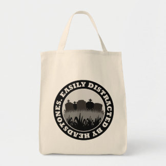 Easily Distracted By Headstones Bags