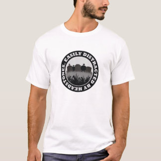Easily Distracted By Headstones T-Shirt