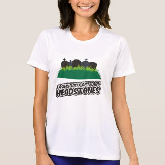 Easily Distracted By Headstones Tee Shirt