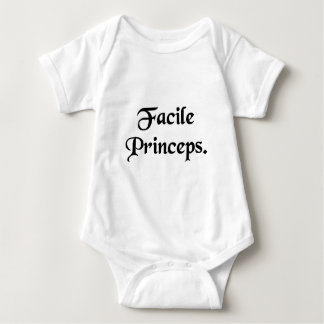 Easily first. baby bodysuit