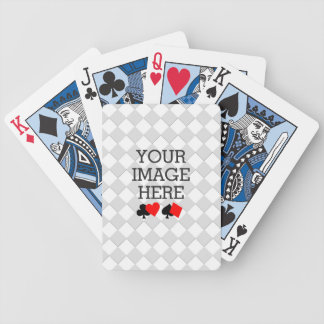 Easily Make Your Own Blue Theme Deck in One Step Bicycle Playing Cards