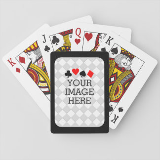 Easily Make Your Own in One Step with Black Frame Playing Cards