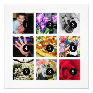 Easily Make Your Own Photo Art with 9 images