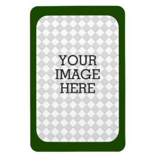 Easily Make Your Own Photo Display in Forest Green Magnet