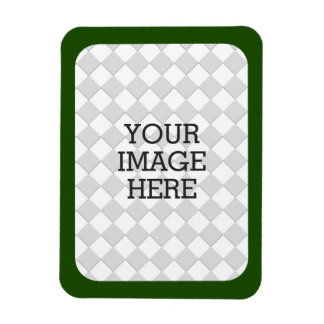 Easily Make Your Own Photo Display in Green Frame Magnet