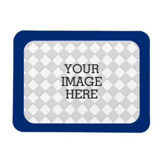 Easily Make Your Own Photo Display in Navy Blue Magnet