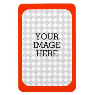 Easily Make Your Own Photo Display in Orange Frame Magnet