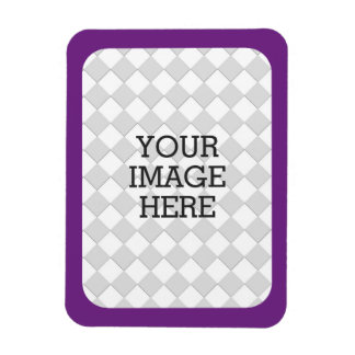 Easily Make Your Own Photo Display in Purple Frame Magnet