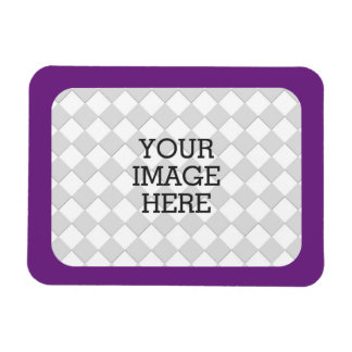 Easily Make Your Own Photo Display in Purple Mauve Magnet