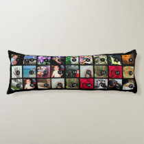 Easily Make Your Own Photo Display with 27 images Body Pillow
