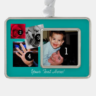 Easily Make Your Own Photo Display with 4 photos Ornament
