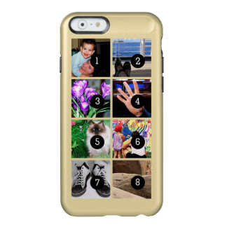 Easily Make Your Own Photo Display with 8 photos Incipio Feather Shine iPhone 6 Case