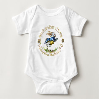Easster - Here Comes Peter Cottontail Baby Bodysuit