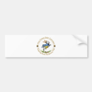 Easster - Here Comes Peter Cottontail Bumper Stickers