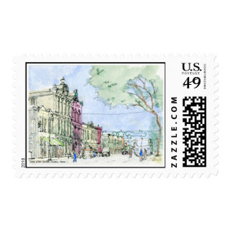 East 6th Street, Austin, Texas Stamp