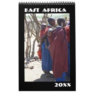 East Africa Calendar